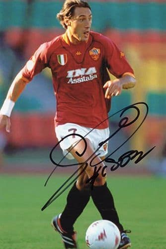 Diego Fuser, Roma & Italy, signed 6x4 inch photo.(2)