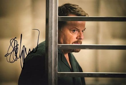 Eddie Izzard, signed 12x8 inch photo.