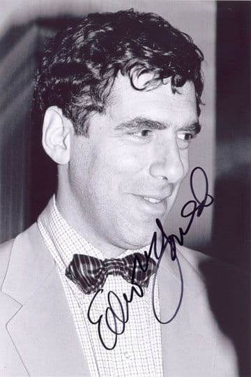 Elliot Gould, signed 12x8 inch photo.