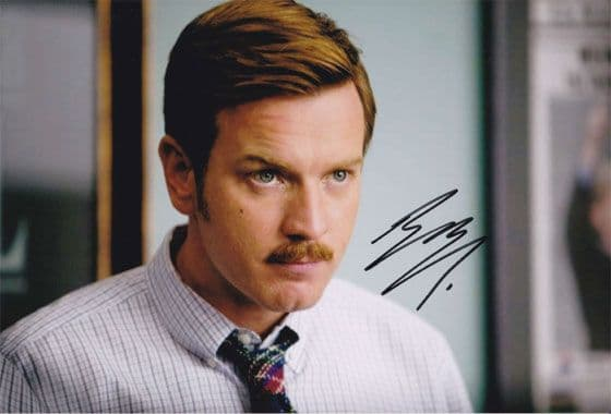 Ewan McGregor, signed 12x8 inch photo.