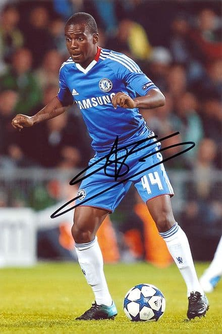 Gael Kakuta, Chelsea, signed 12x8 inch photo.