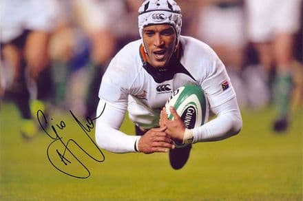 Gio Aplon, South Africa, signed 12x8 inch photo.