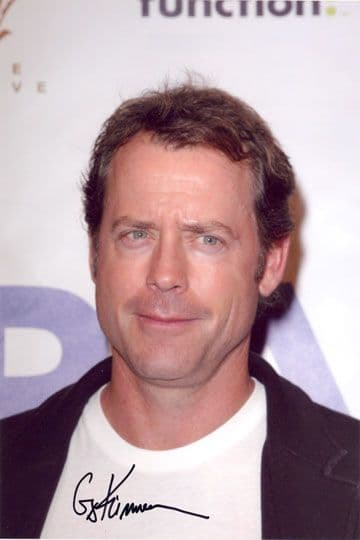 Greg Kinnear, signed 12x8 inch photo.(2)