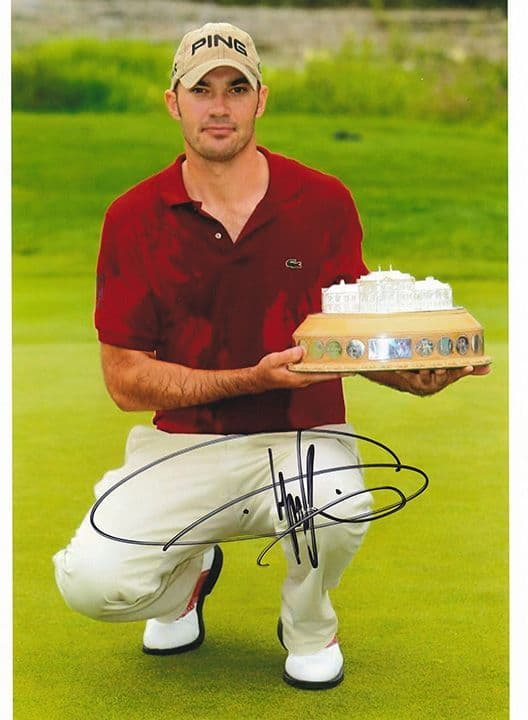Gregory Havret, Barclays Scottish Open 2007, signed 8x6 inch photo.