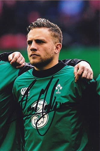 Ian Madigan, Ireland, signed 6x4 inch photo.