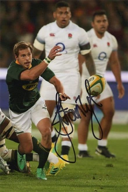Ivan van Zyl, South Africa, signed 6x4 inch photo.