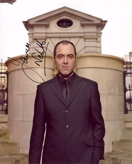 James Nesbitt, signed 10x8 inch photo.