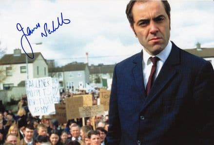 James Nesbitt, signed 12x8 inch photo.