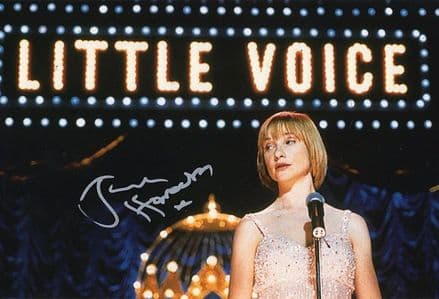 Jane Horrocks, Little Voice, signed 12x8 inch photo.