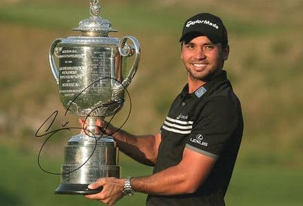 Jason Day, PGA Championship 2015, signed 12x8 inch photo.