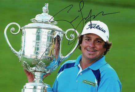 Jason Dufner, PGA Championship 2013, signed 12x8 inch photo.