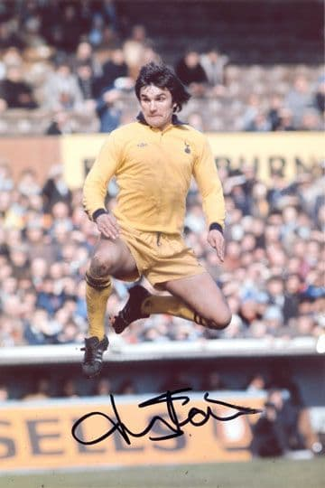 John Pratt, Tottenham Hotspur, signed 12x8 inch photo.
