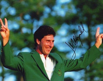 Jose Maria Olazabal, Masters 1994 Augusta, signed 10x8 inch photo.