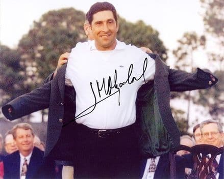 Jose Maria Olazabal, Masters Champion 1999, signed 10x8 inch photo.
