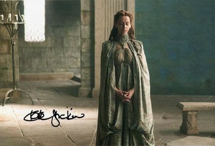 Kate Dickie, Game of Thrones, signed 12x8 inch photo.(2)