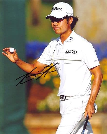 Kevin Na, signed 10x8 inch photo.