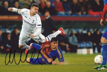 Kyle Walker, Tottenham Hotspur, signed 12x8 inch photo.