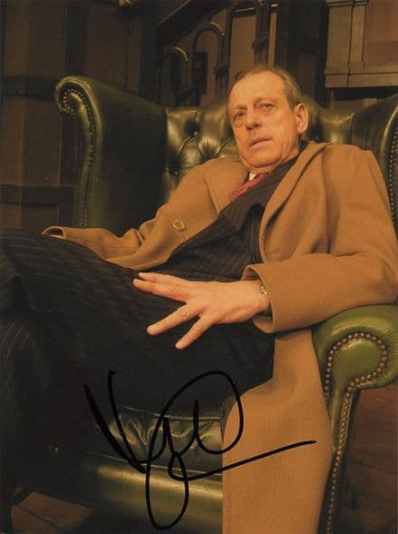 Leslie Grantham, stage and television actor, signed 8x6 inch photo.