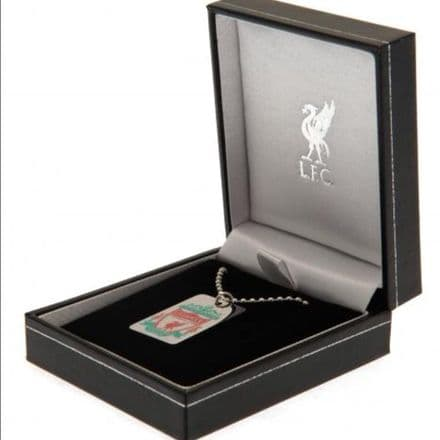 Liverpool FC stainless steel dog tag & chain.