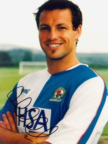 Lucas Neill, Blackburn Rovers & Australia, signed 8x6 inch photo.