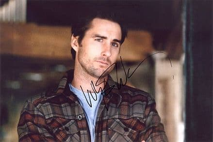 Luke Wilson, signed 12x8 inch photo.