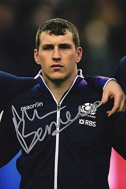 Mark Bennett, Scotland, signed 6x4 inch photo.