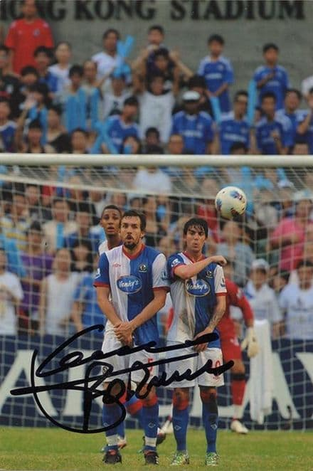 Mauro Formica, Blackburn Rovers & Argentina, signed 6x4 inch photo.