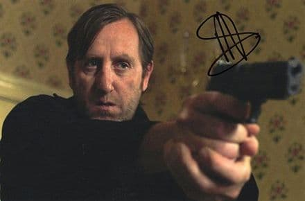 Michael Smiley, signed 9x6 inch photo.