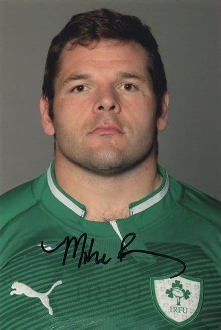 Mike Ross, Leinster & Ireland, signed 6x4 inch photo.