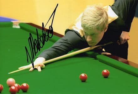 Neil Robertson, Australian snooker player, signed 12x8 inch photo.