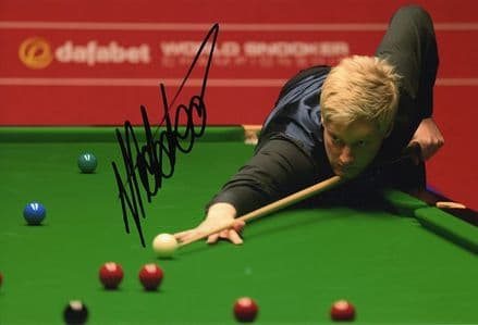 Neil Robertson, signed 12x8 inch photo.