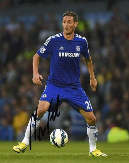 Nemanja Matic, Chelsea & Serbia, signed 10x8 inch photo.(2)