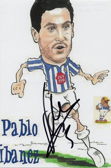 Pablo Ibanez, West Brom & Spain, signed 6x4 inch photo.