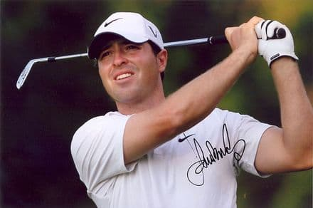 Pablo Martin, Spanish golfer, signed 12x8 inch photo.