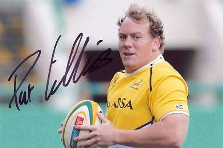 Pat Cilliers, South Africa, signed 6x4 inch photo.