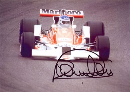 Patrick Tambay, signed 7x5 inch photo.