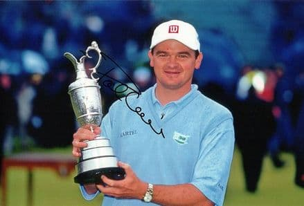 Paul Lawrie, Open Championship 1999 Carnoustie, signed 12x8 inch photo.