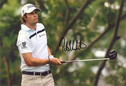 Peter Uihlein, American golfer, signed 12x8 inch photo.