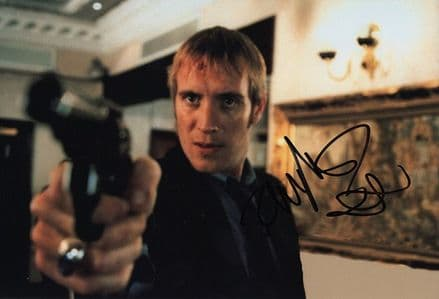 Rhys Ifans, Welsh actor, signed 12x8 inch photo.