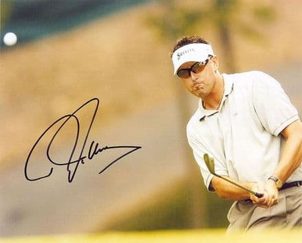Robert Allenby, Australian golfer, signed 10x8 inch photo.