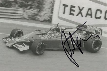 Rupert Keegan, Hesketh Racing F1, signed 7x5 inch photo.