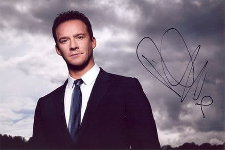 Russell Watson, English classical singer, signed 12x8 inch photo.