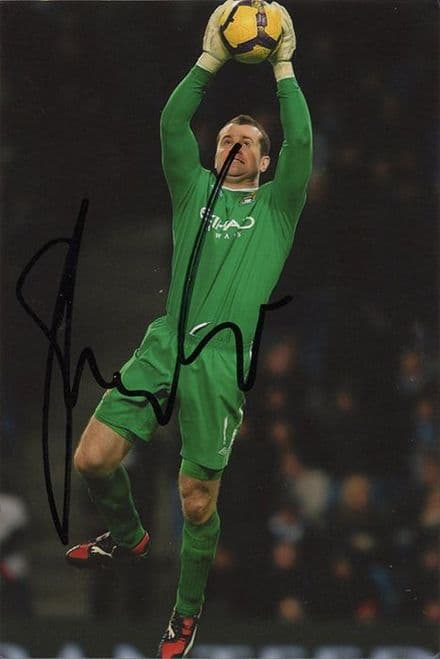Shay Given, Manchester City & Republic of Ireland, signed 6x4 inch photo.
