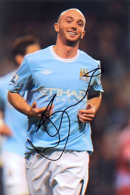Stephen Ireland, Manchester City & Republic of Ireland, signed 6x4 inch photo.