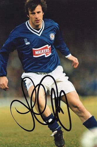 Steve Claridge, Leicester City, signed 6x4 inch photo.