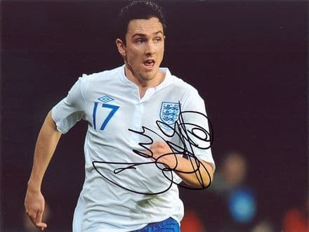 Stewart Downing, England, signed 10x8 inch photo.