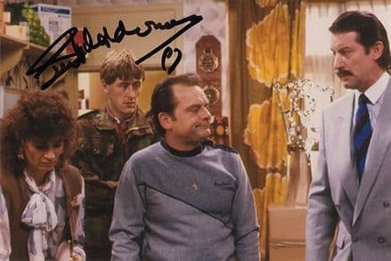 Sue Holderness, Marlene in Only Fools and Horses, signed 6x4 inch photo.