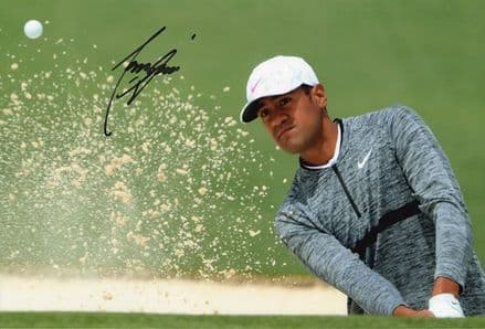 Tony Finau, PGA Tour golfer, signed 12x8 inch photo.
