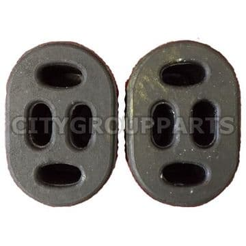2 x Ford Tourneo Transit Custom Mid Section Exhaust Rubber Mounting  Exhaust Hanger Support