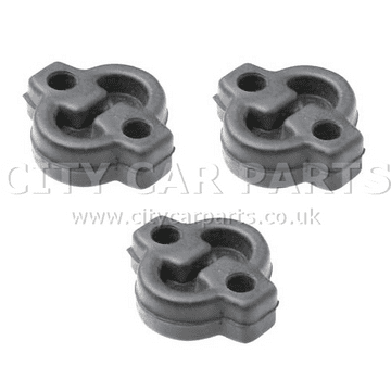 3 x MAZDA MX5 PETROL 1.6 1.8 CONVERTIBLE EXHAUST RUBBER MOUNT HANGER MOUNTING
